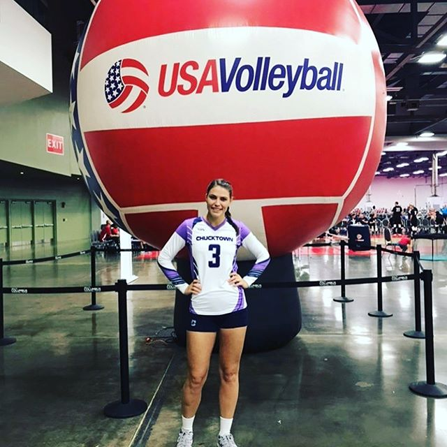 We are wishing our Blaine the best of luck this week in Ohio at the USA Volleyball Nationals! Not only is she a working Mom of two, an amazing wife, but she just so happens to kick-ass at volleyball too!