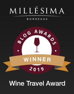 Millesima blog awards winner 2019 for the Wine Travel Award - James Flewellen.