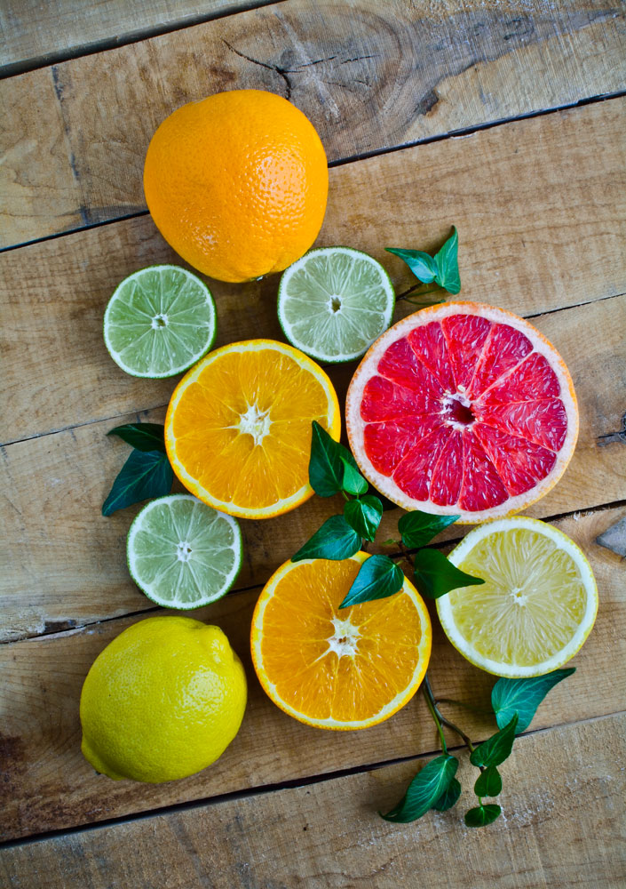 Lemons, Limes, Oranges and Grapefruit