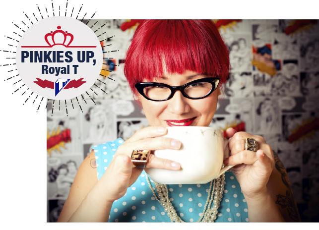 Pinkies Up Social Media Campaign