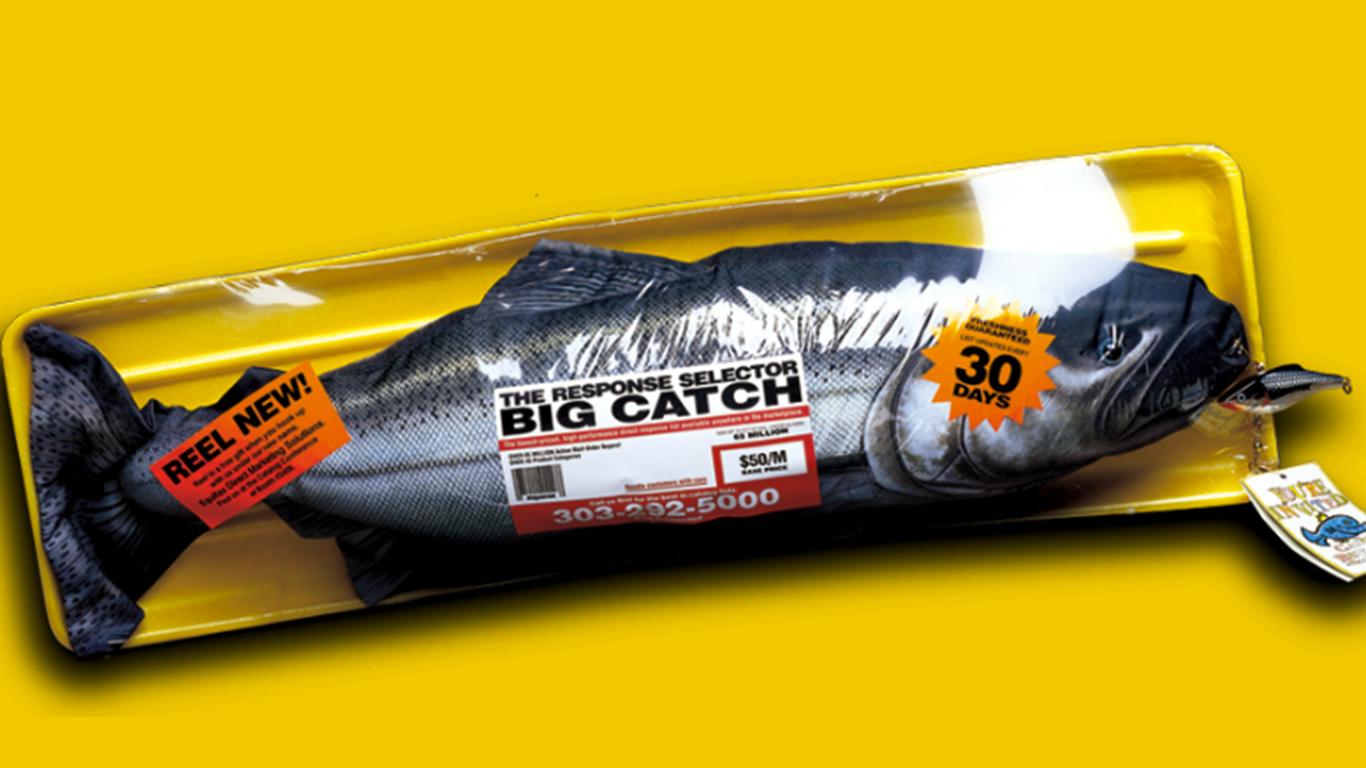 Stuffed Fish 3D Direct Mail