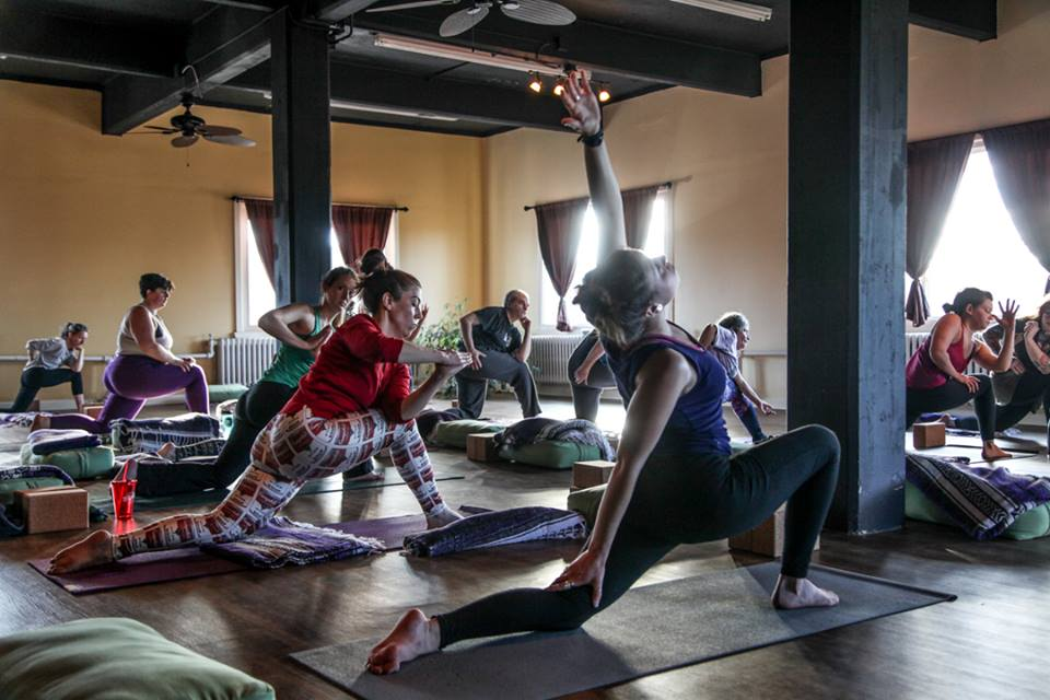 Intermediate Flow - This class is an offering for yogis looking to deepen their practice with more advanced asana, pranayama & philosophical elements. Expect to be challenged, encouraged & excited! Some experience with yoga is recommended, but don't be intimidated! Come explore with us!
