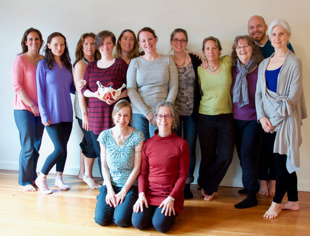 April 2017 Class Photo (This class was held in Portland Oregon at the Mama Yoga studio of Carol Gray.)