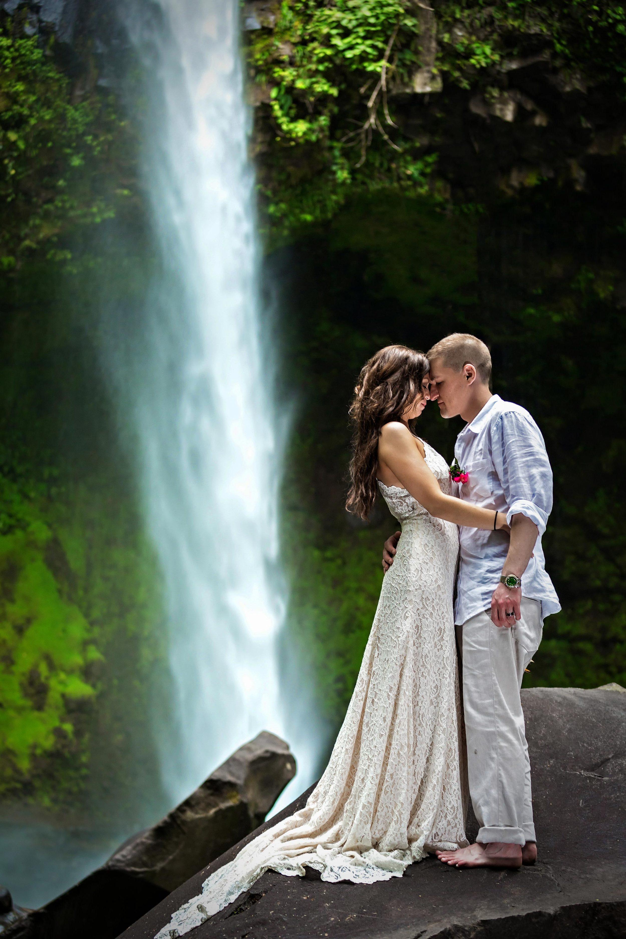 TTD at La Fortuna Waterfall