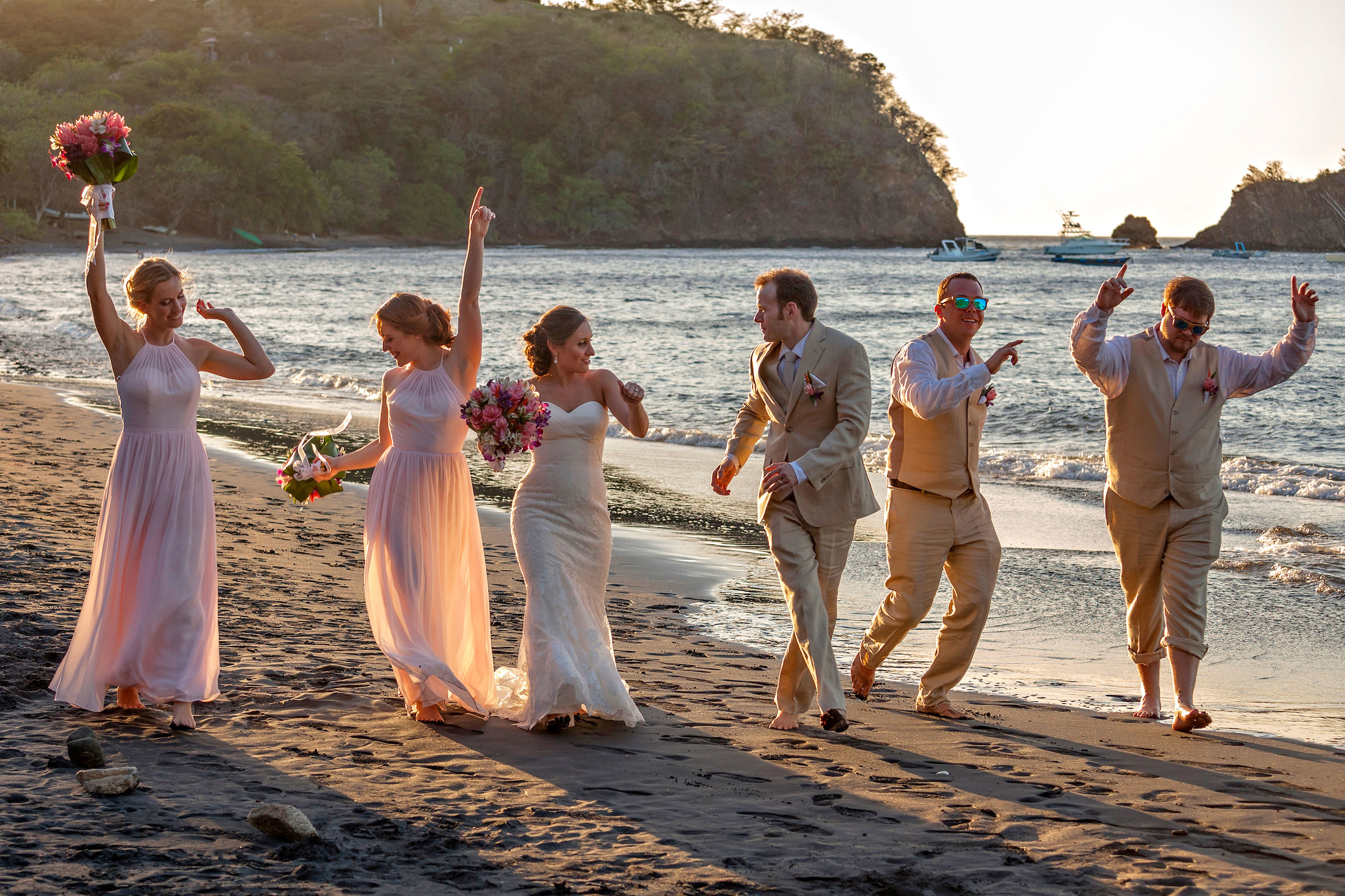 Ocotal Beach Wedding