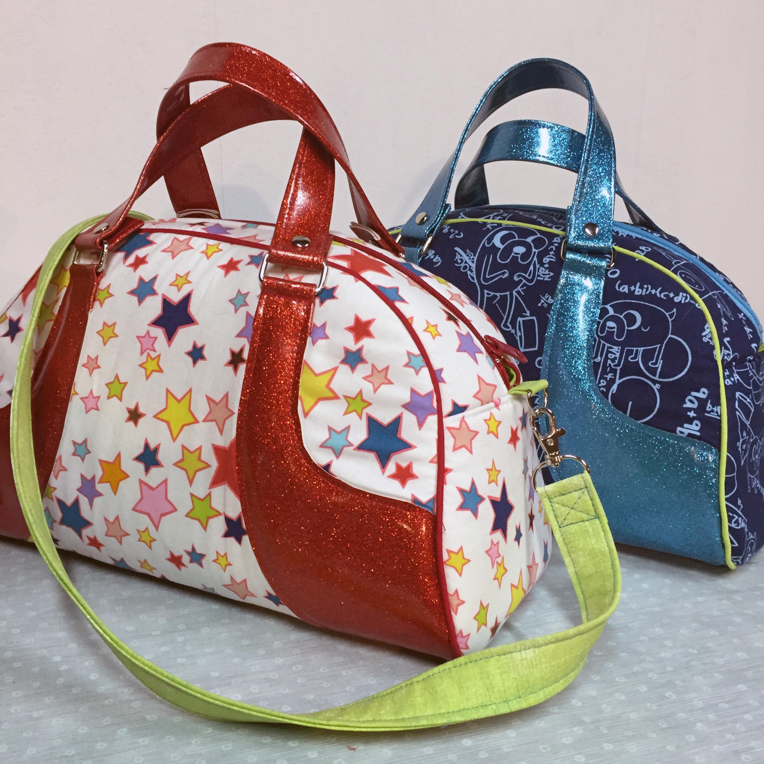 Maisie Bowler Bags. Pattern by Swoon.