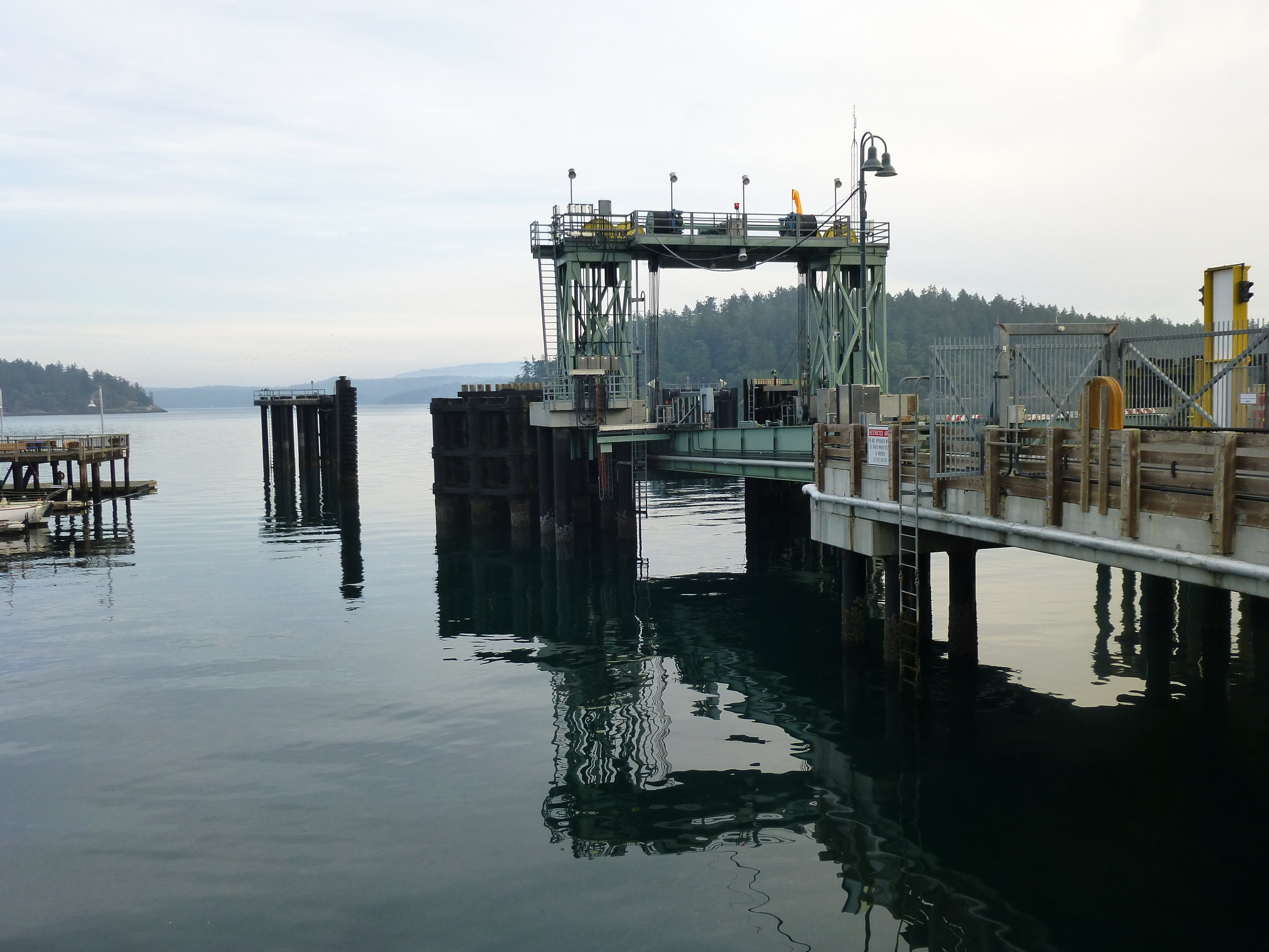 ahem... not our ferry landing!