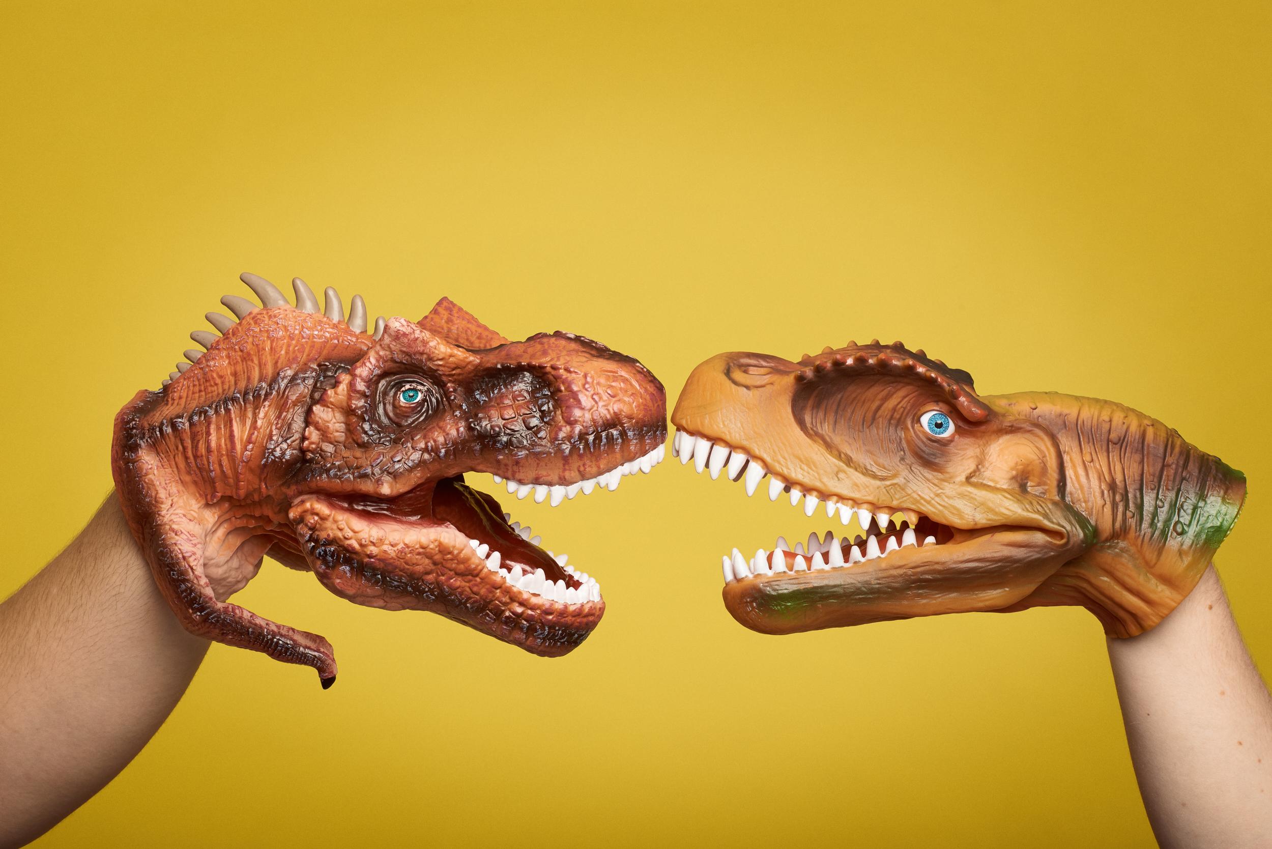 Secret Dinosaur Cult #1
