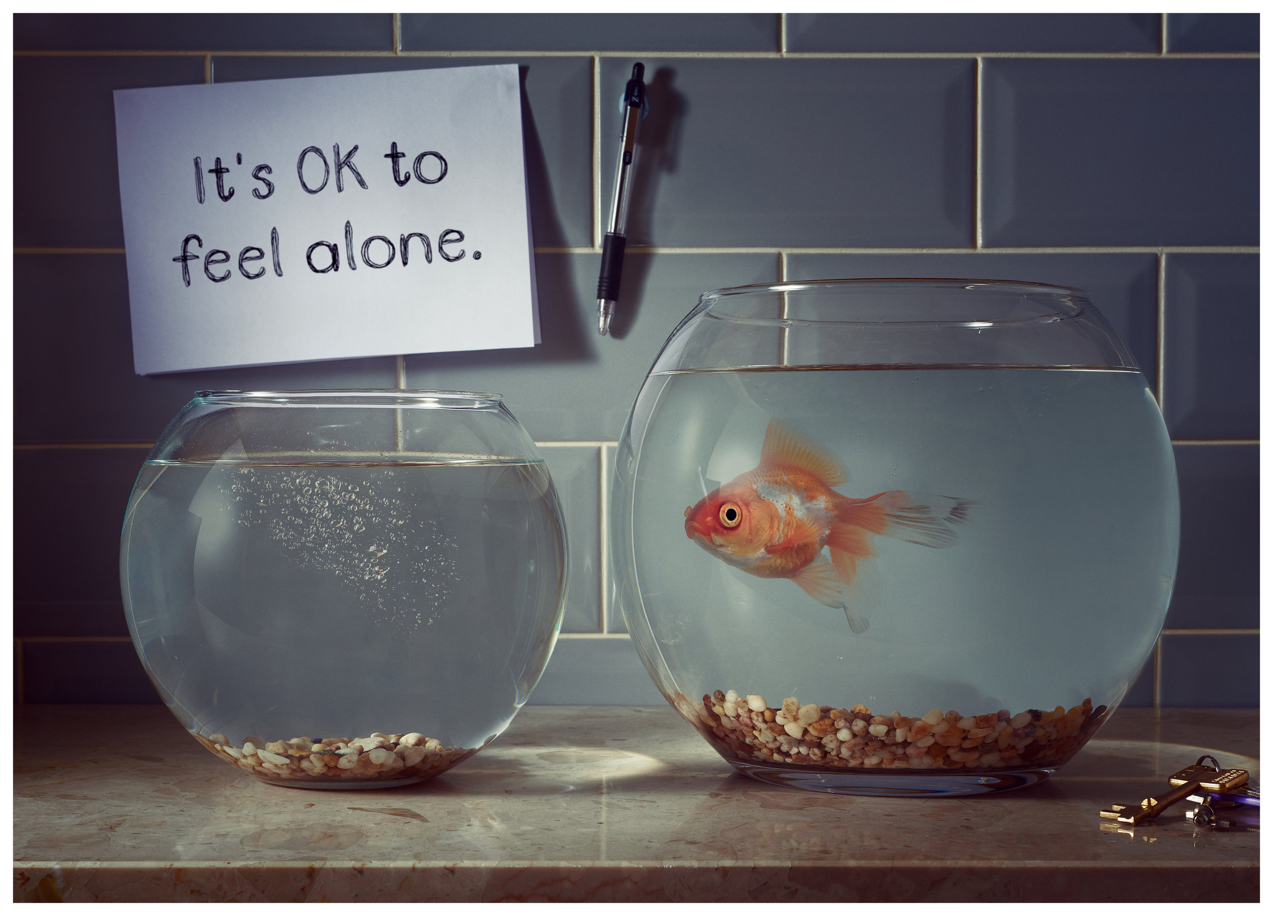 It's OK to feel alone.
