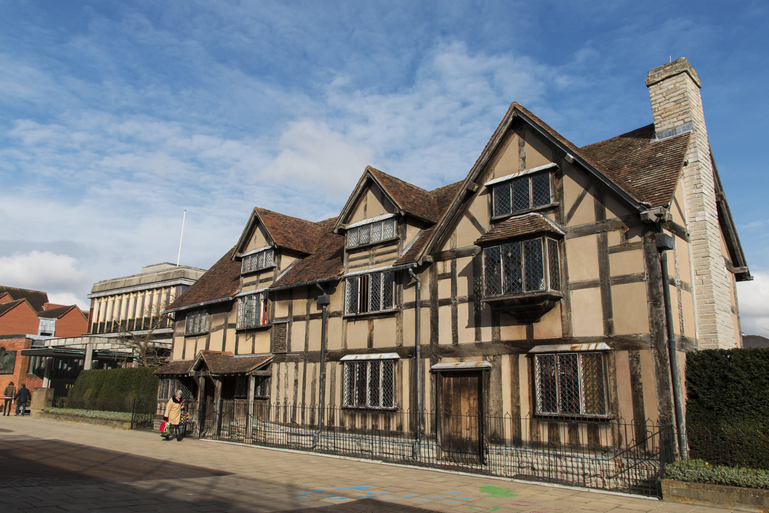Shakespeare's home.