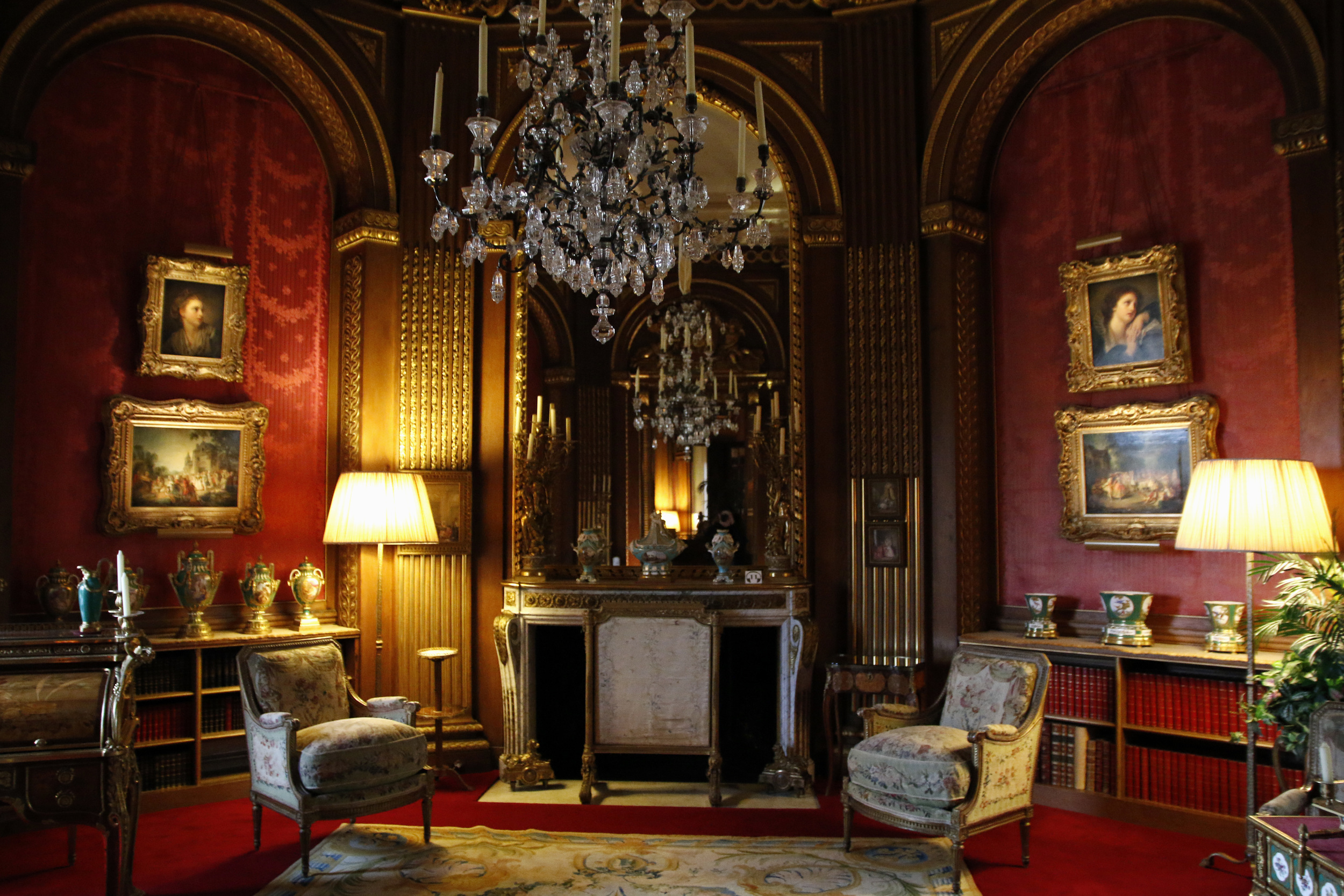 Just one of the elegant room inside