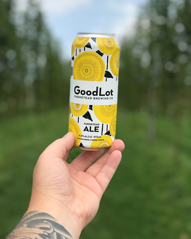 We are here at @goodlot.beer until 5pm. Enjoy this beautiful tour of the first farm-to-barrel brewery in the @ongreenbelt