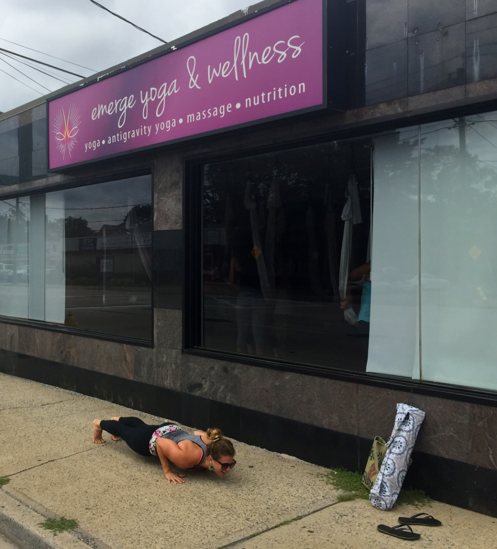 Thank you to Emerge Yoga Wellness for having me as a guest instructor for Deconstructing Chaturanga Dandasana Workshop this past Saturday! It was a great experience with 6 wonderful students. The Bad Ash Yoga Tour continues in October in Toledo, Ohio!