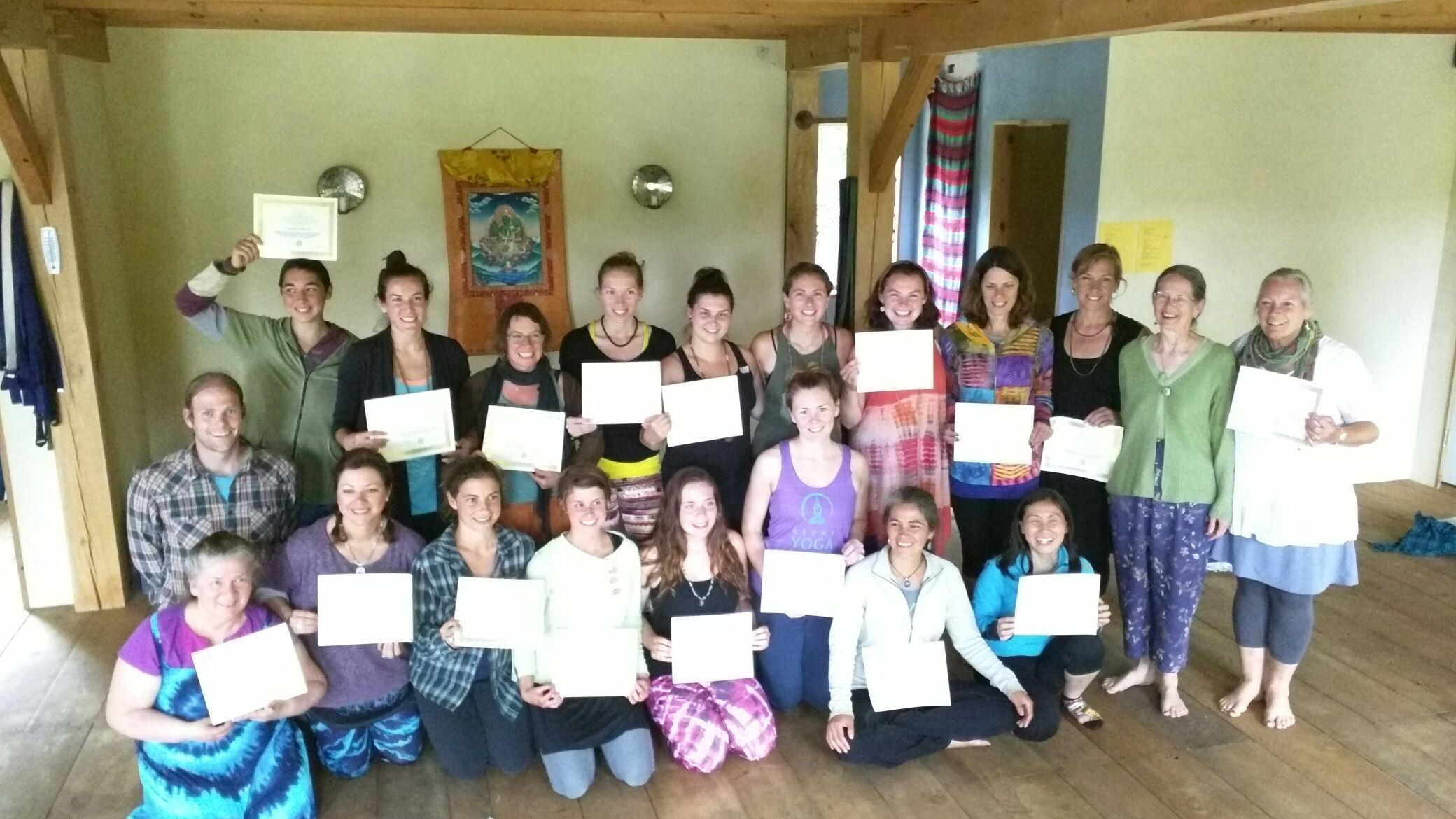 Sadhana Yoga School New Hampshire Program... my 1st Shadowing with SYS.