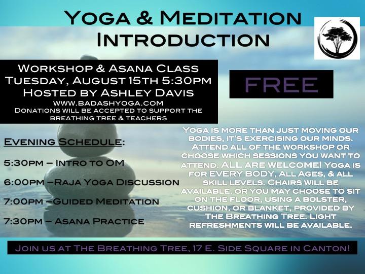 free yoga & meditation