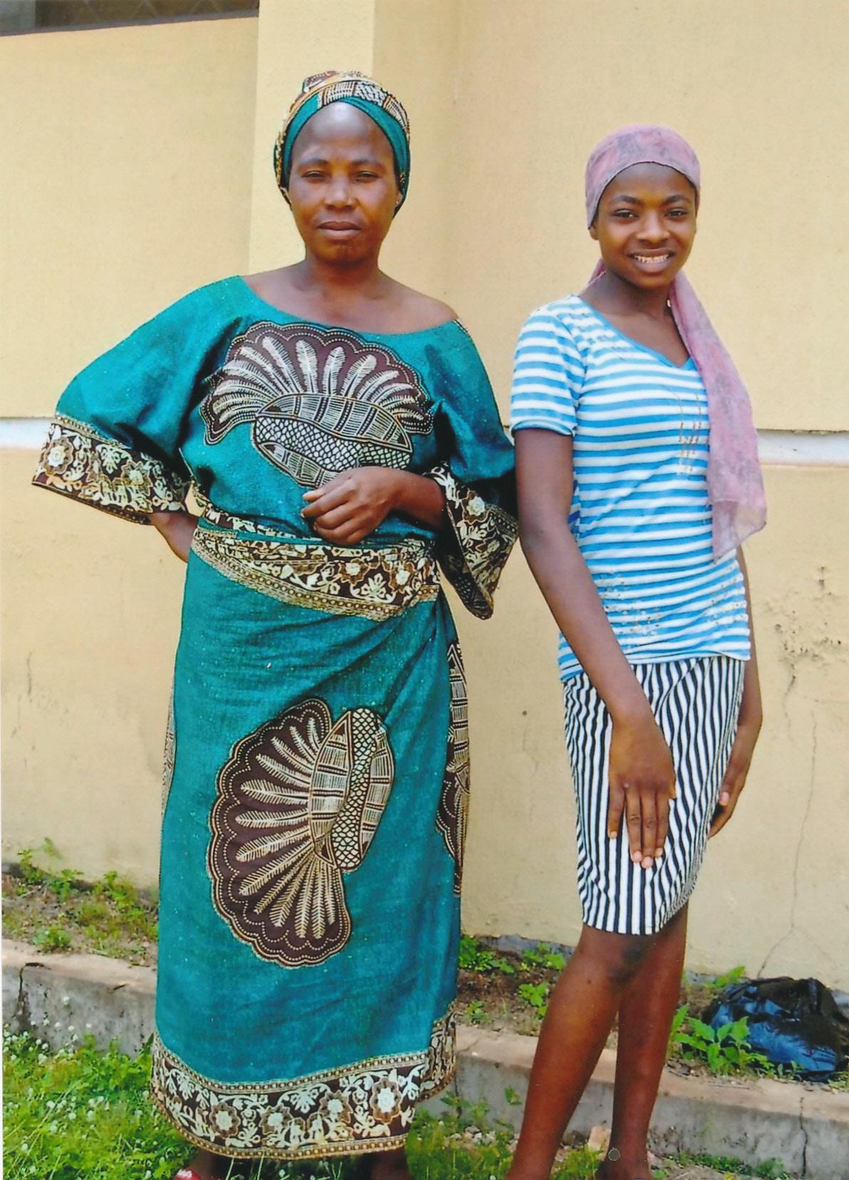 Kadijat and her mother