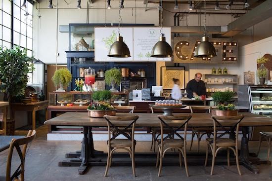 LA Café by Festivities at Lillian August Design Center