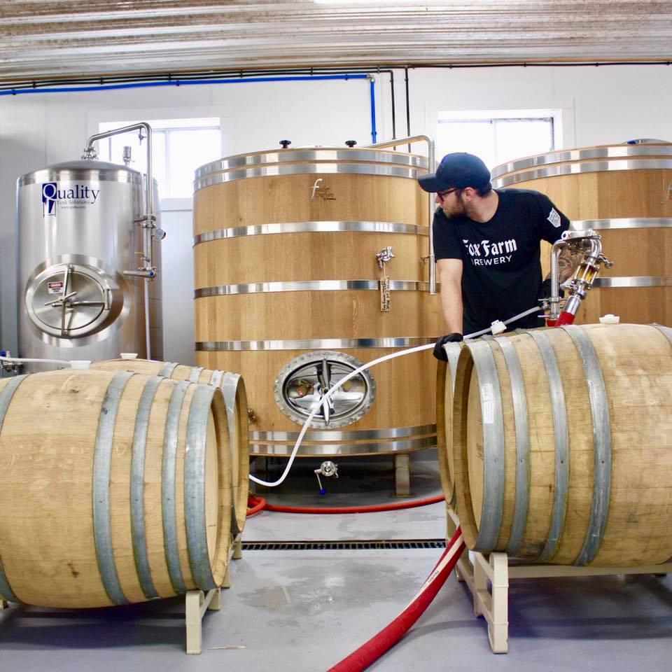 Photo Courtesy of Fox Farm Brewery