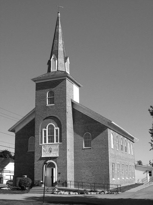 First Presbyterian Church , East Avon. Source: Wikipedia