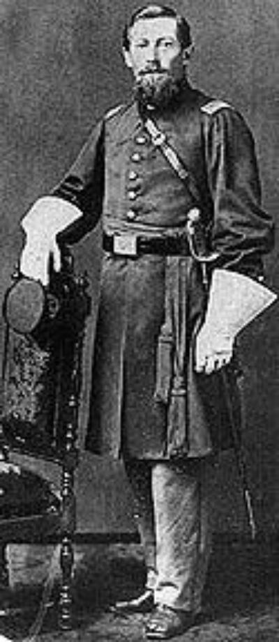 Capt.Orange Sackett .Source: Wikipedia