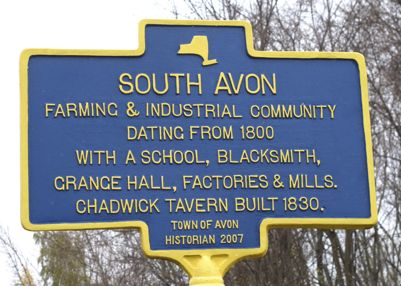 Link for   South Avon  history.