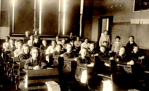 Avon school children, APHS collection