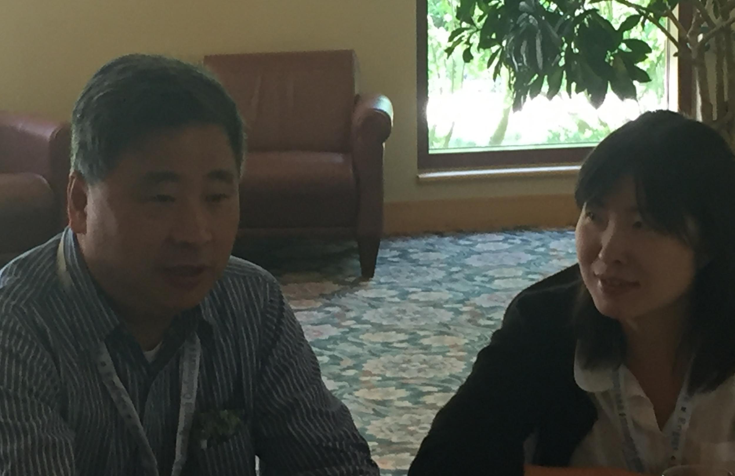 Wei Wei and Jimmy Zhou