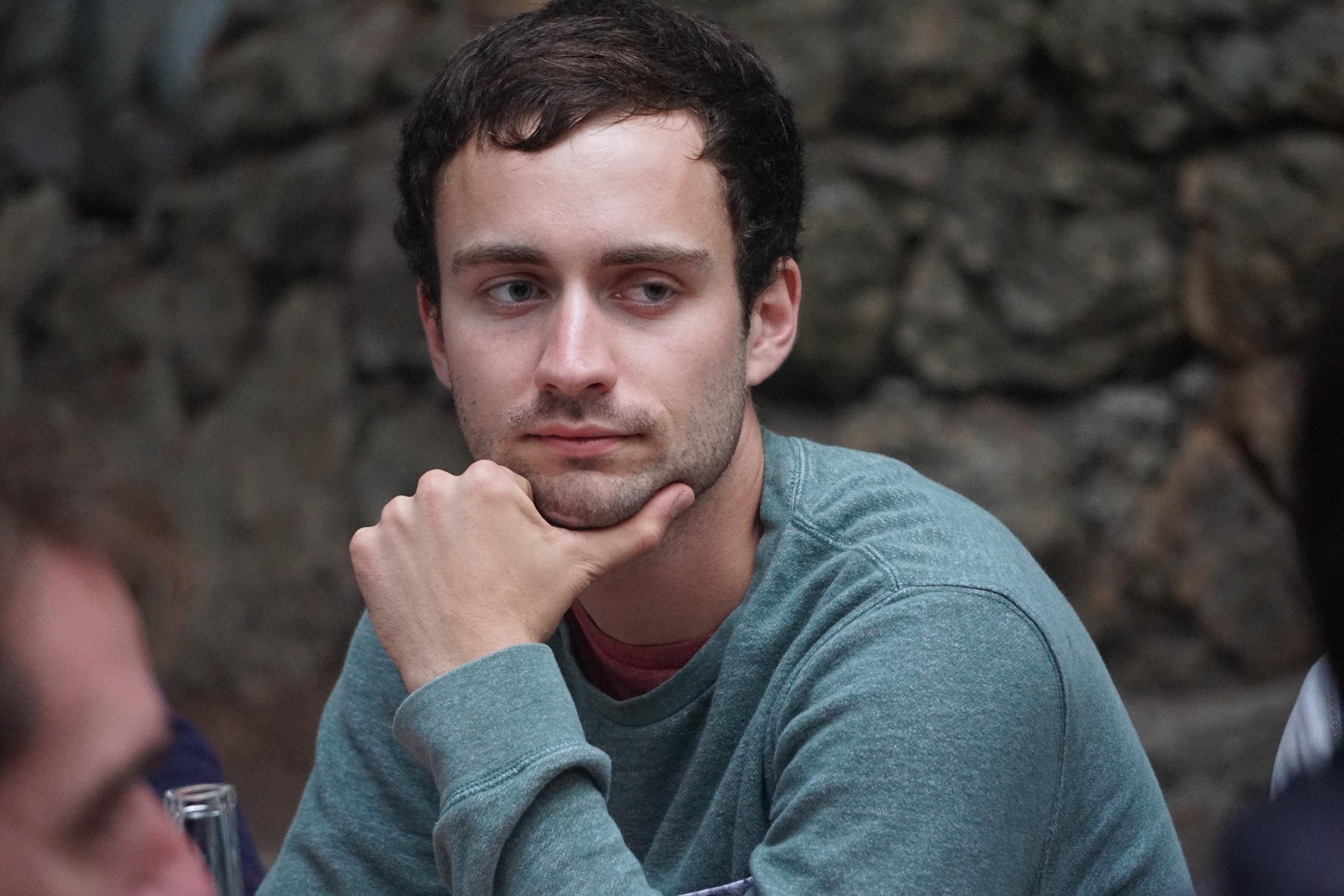Josh Tworig, MCB graduate student,  Retinal waves and glial cells