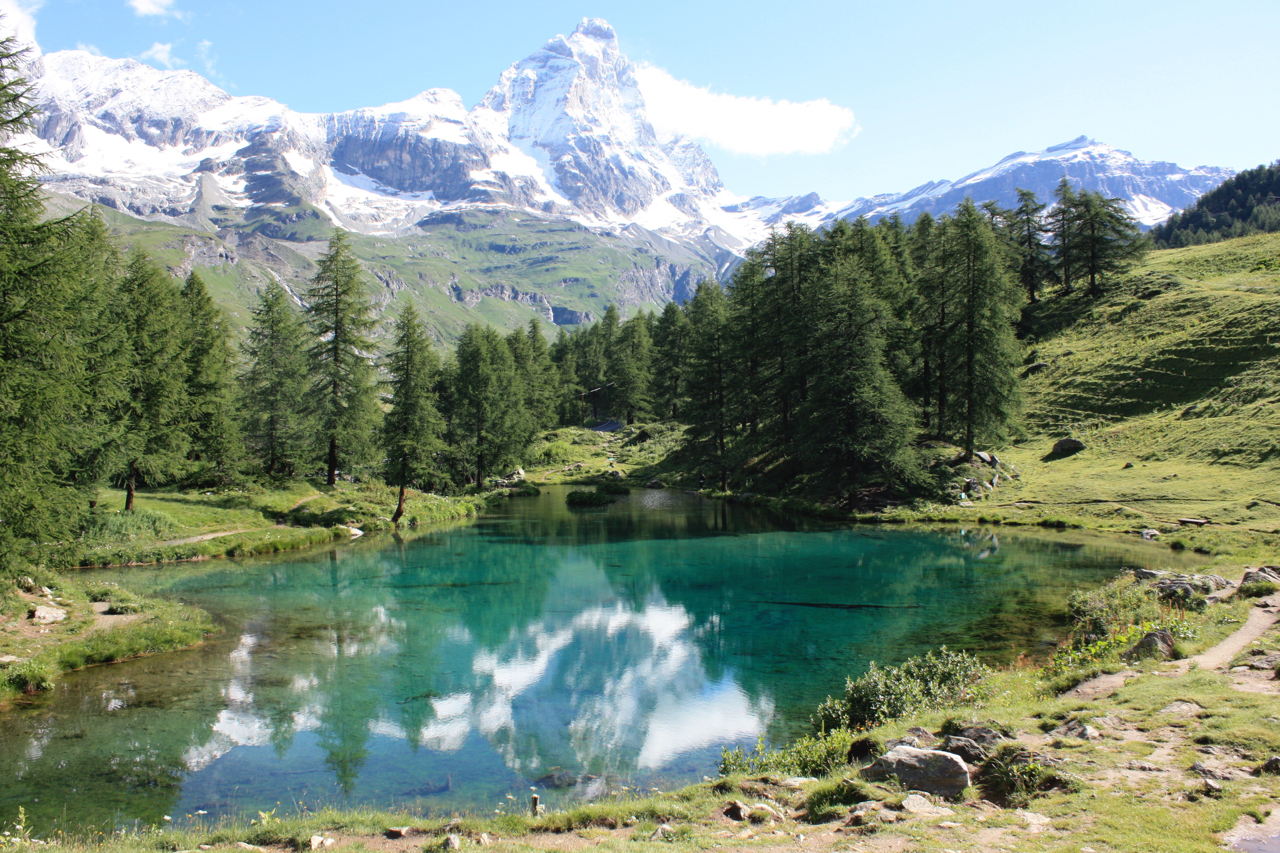 Lago Blu, Cervino