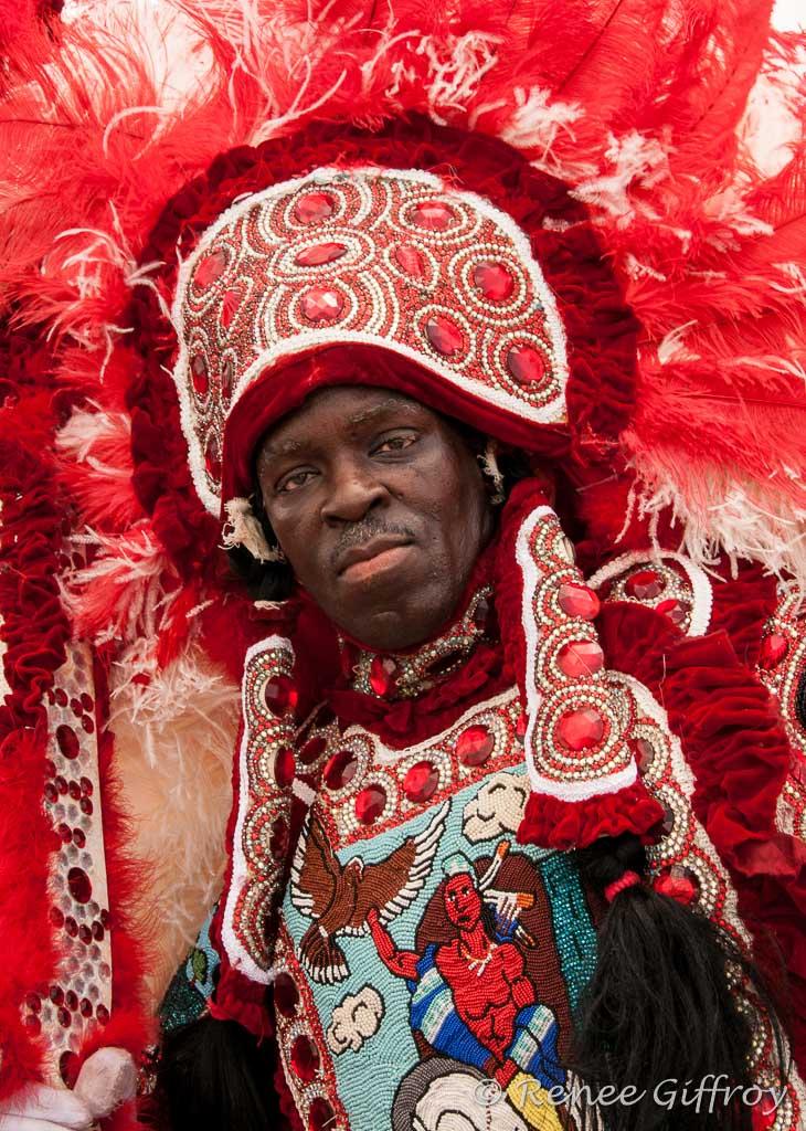 Mardi Gras Indian, New Orleans, LA