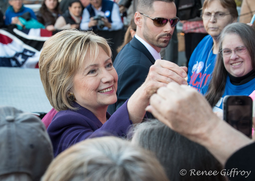 Hillary Clinton in Concord, NH