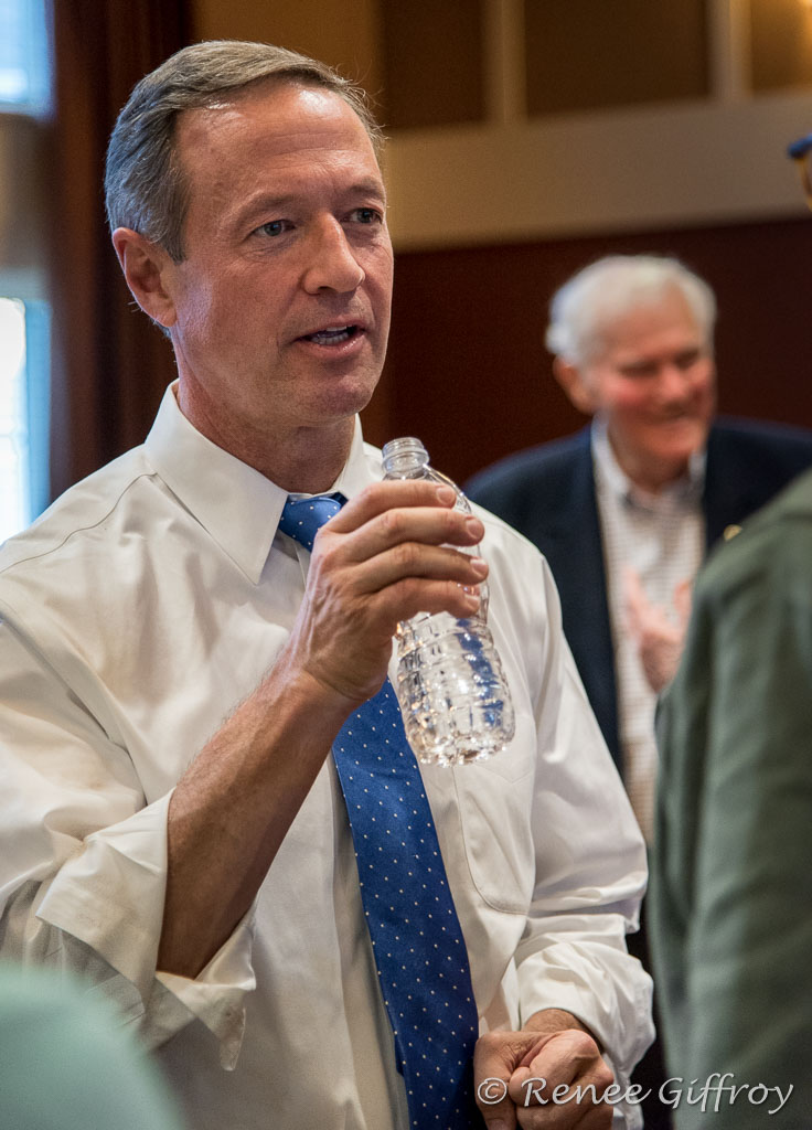 Martin O'Malley in Exeter, NH