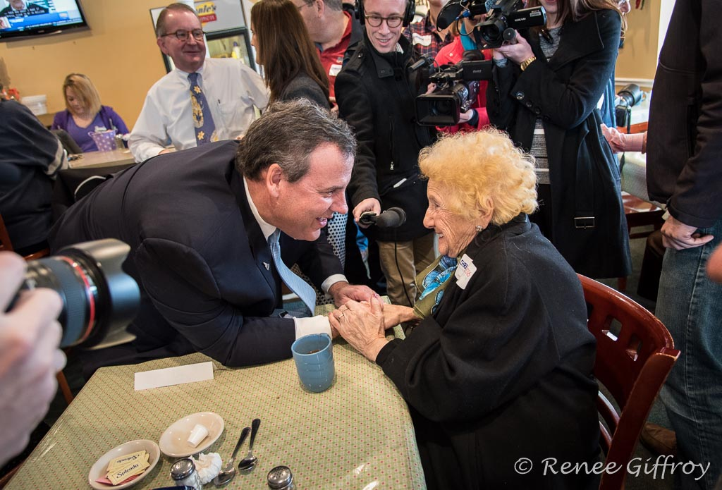 Chris Christie in Londonderry, NH