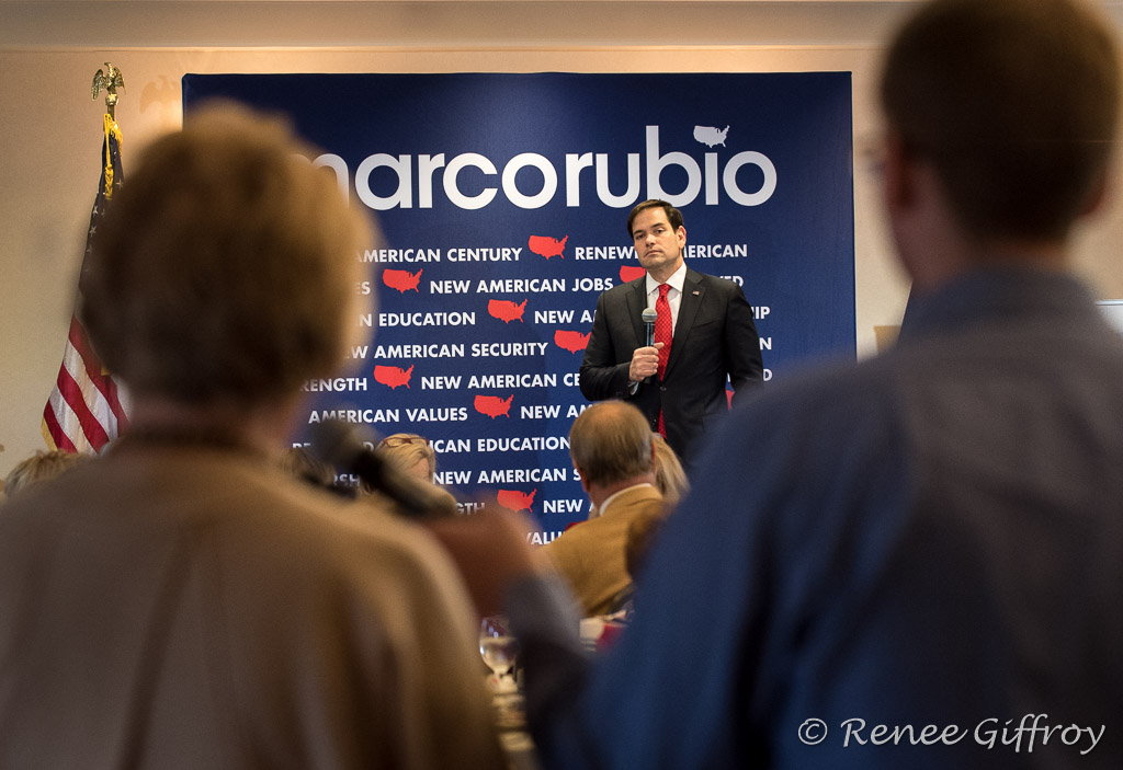 Marco Rubio in Greenland, NH
