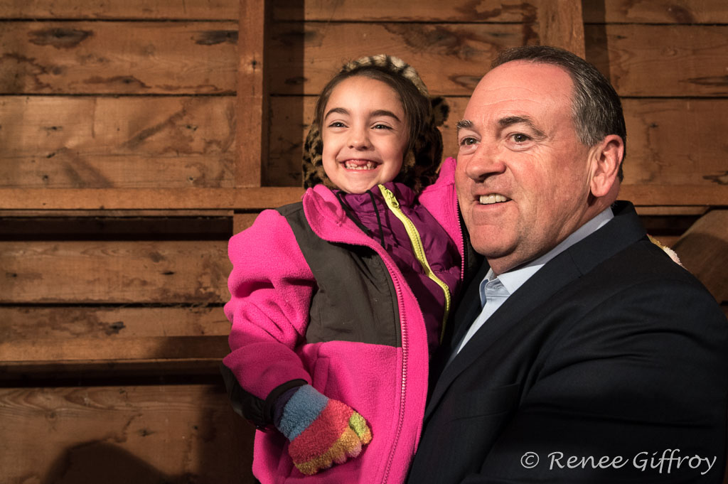 Mike Huckabee in Rye, NH