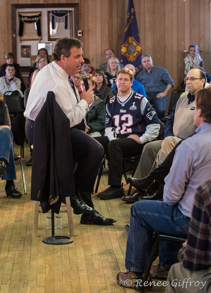 Chris Christie in Portsmouth, NH