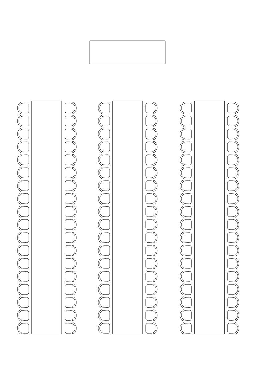 Bordoppsett selskap: Langbord