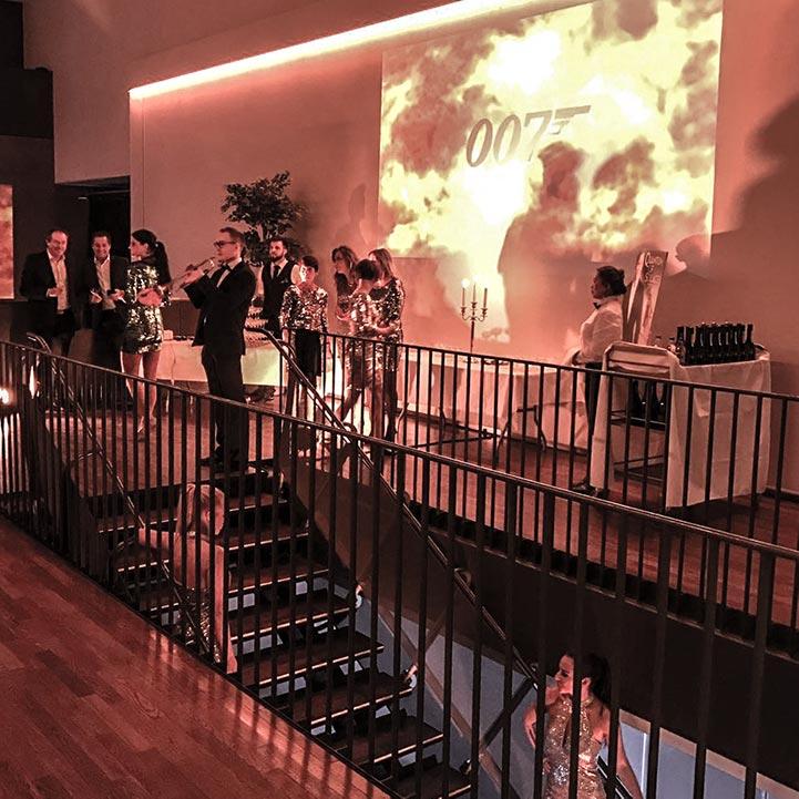 James Bond er et populært tema for temafest på Gamle Museet.