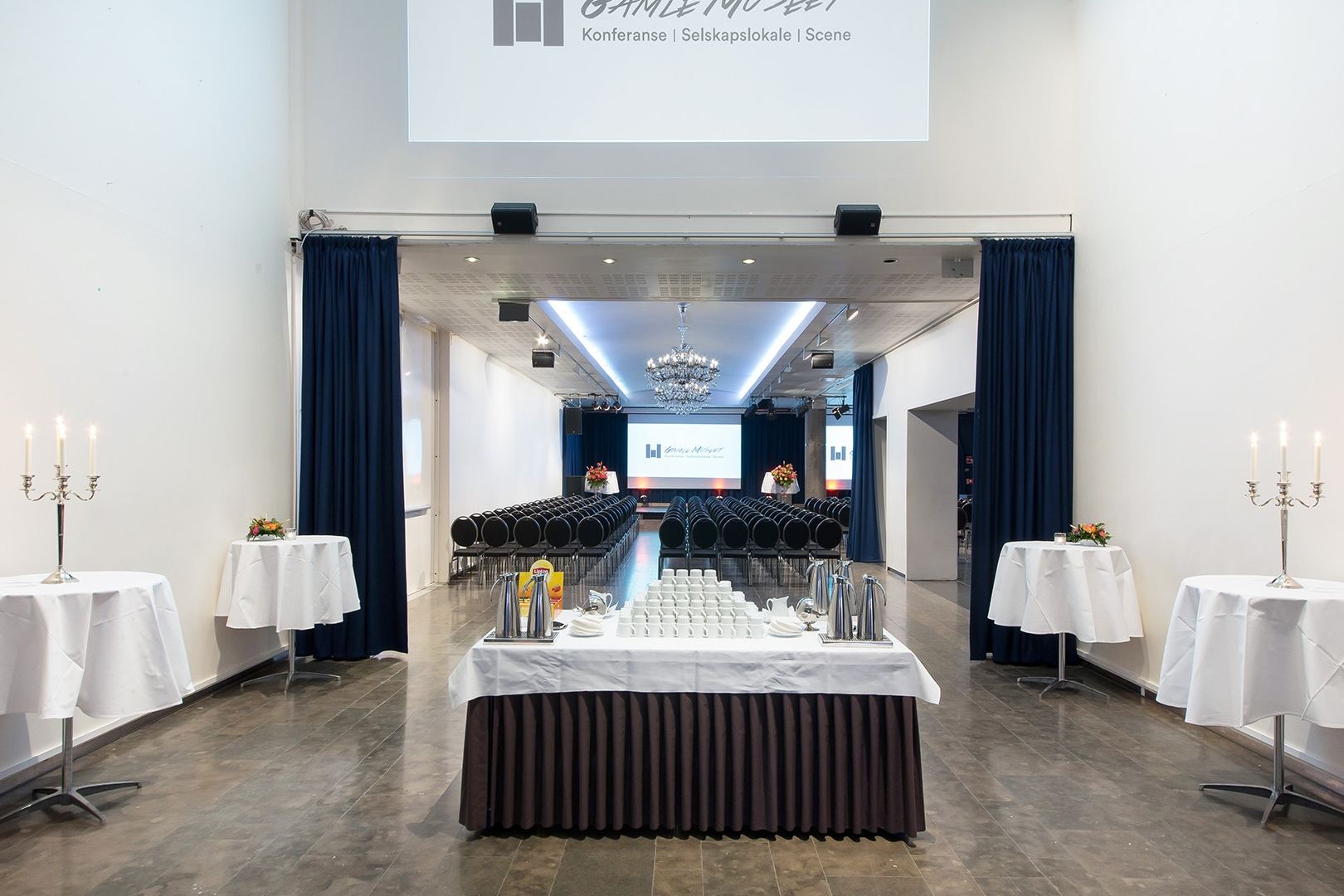 Gamle Museet har store, åpne og fleksible lokaler til konferanse, messe, selskap og bryllup.