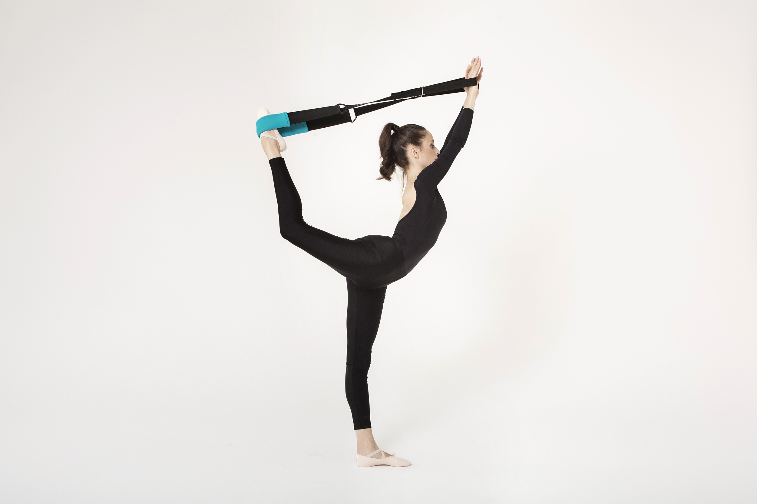 dancer's pose with the flexistretcher
