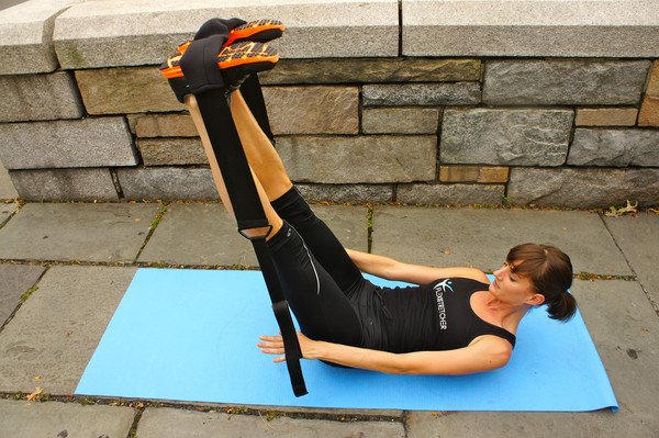 Pilates Hundred with Flexistretcher