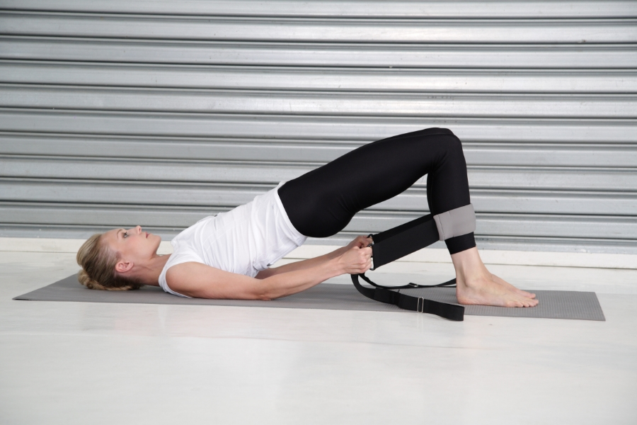 hip lifts with the Flexistretcher