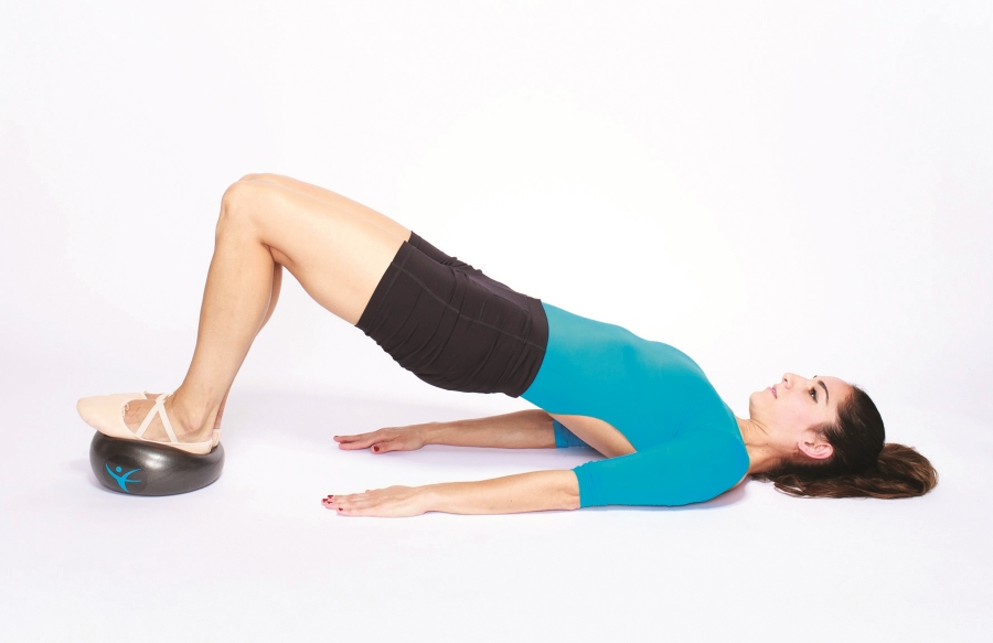 hip lifts with the FLX Ball