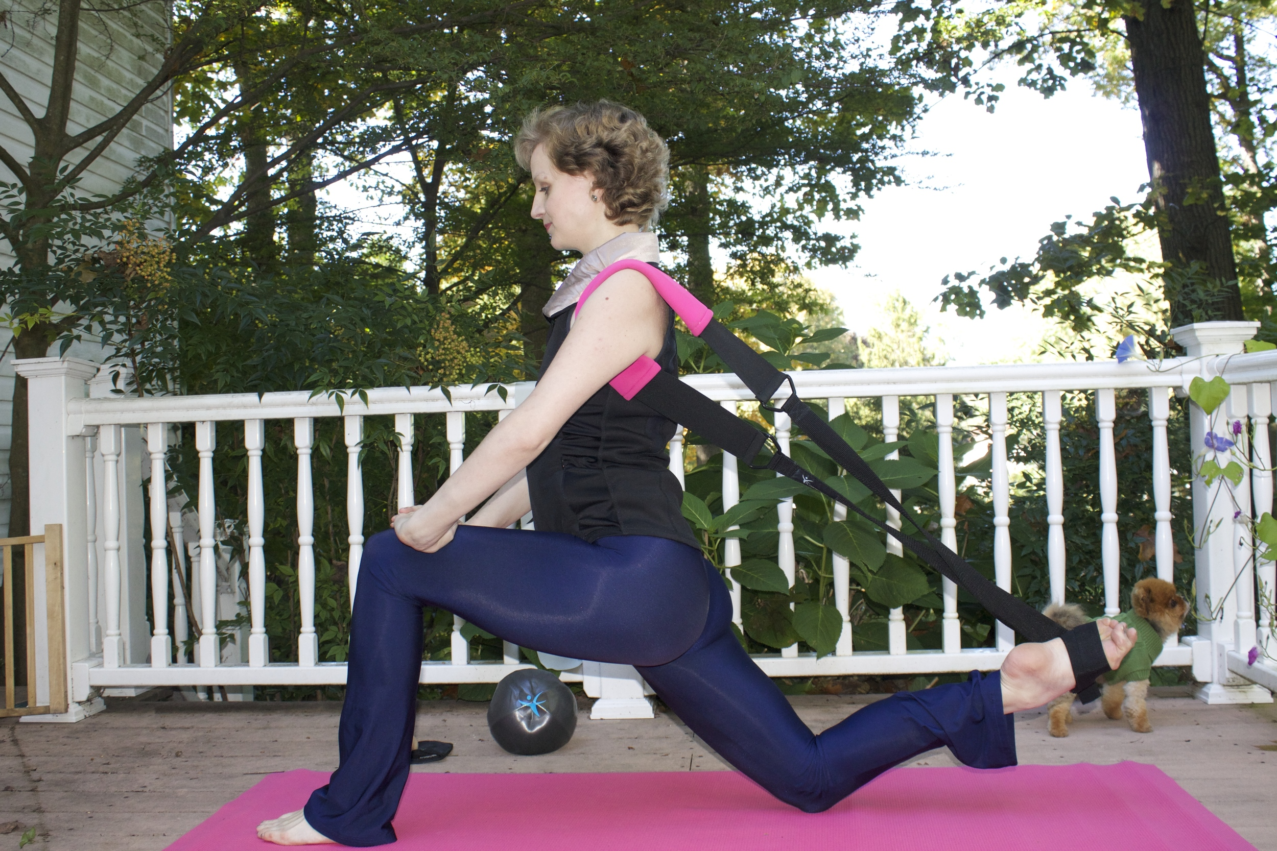 Runner's Lunge with the Flexistretcher