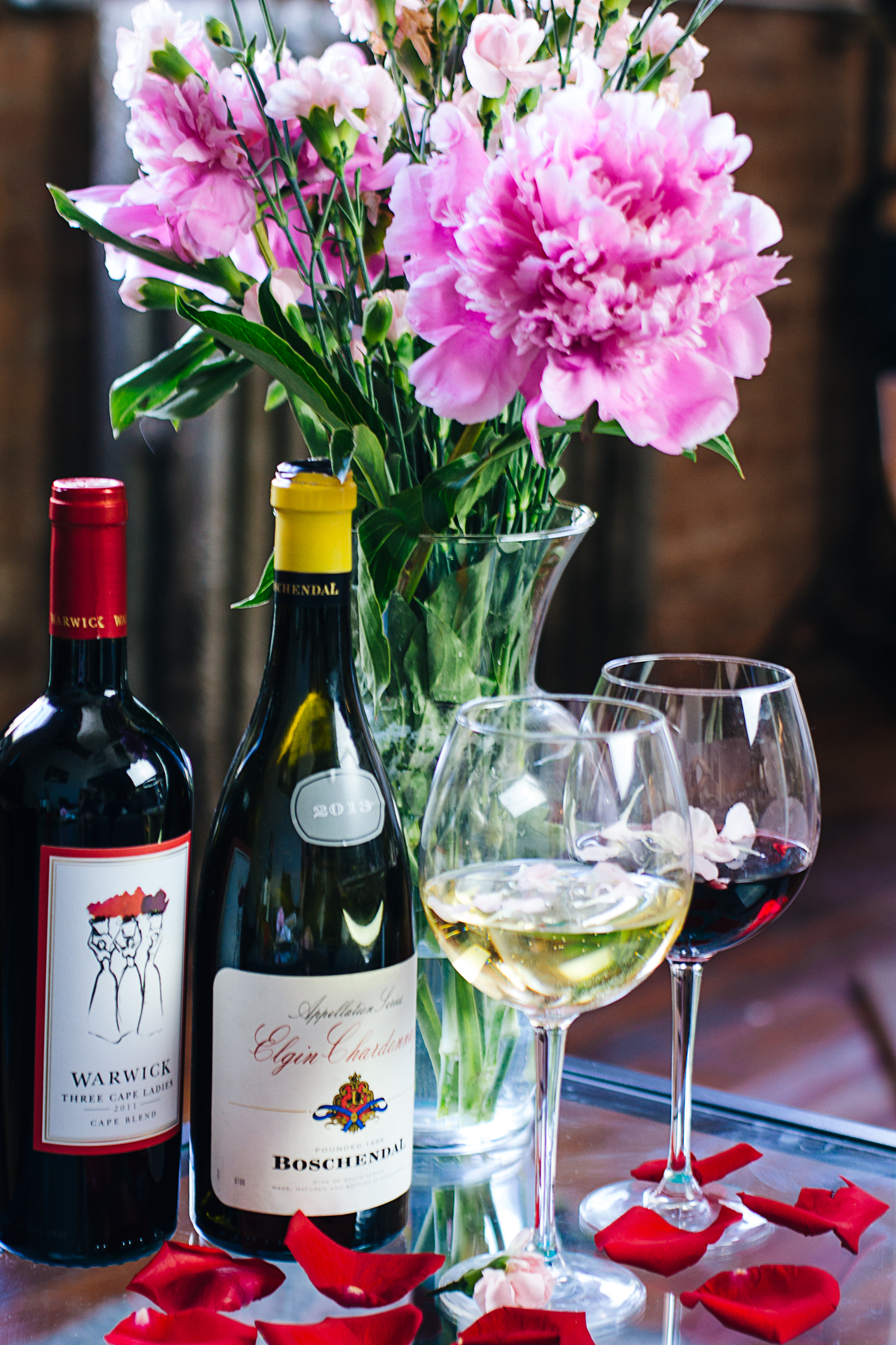 Mothers Day Flowers and Wine.jpg