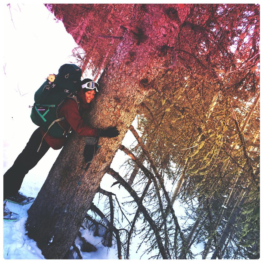 Photography by Shane Acuff, Tree Hugging by Blake Elizabeth