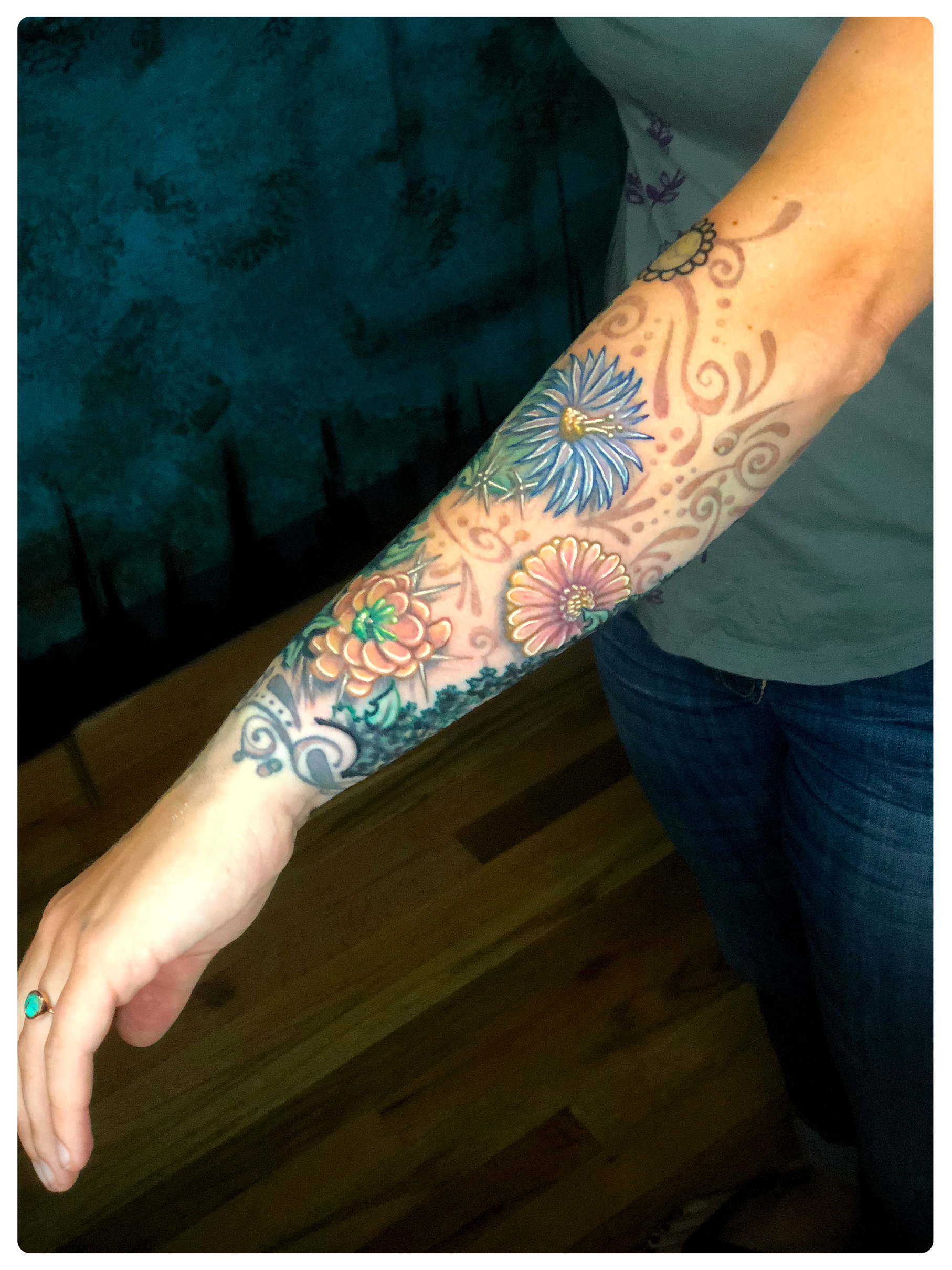 D4aa0578aa Free Shipping Online For Sale Nice Half Sleeve Sunset