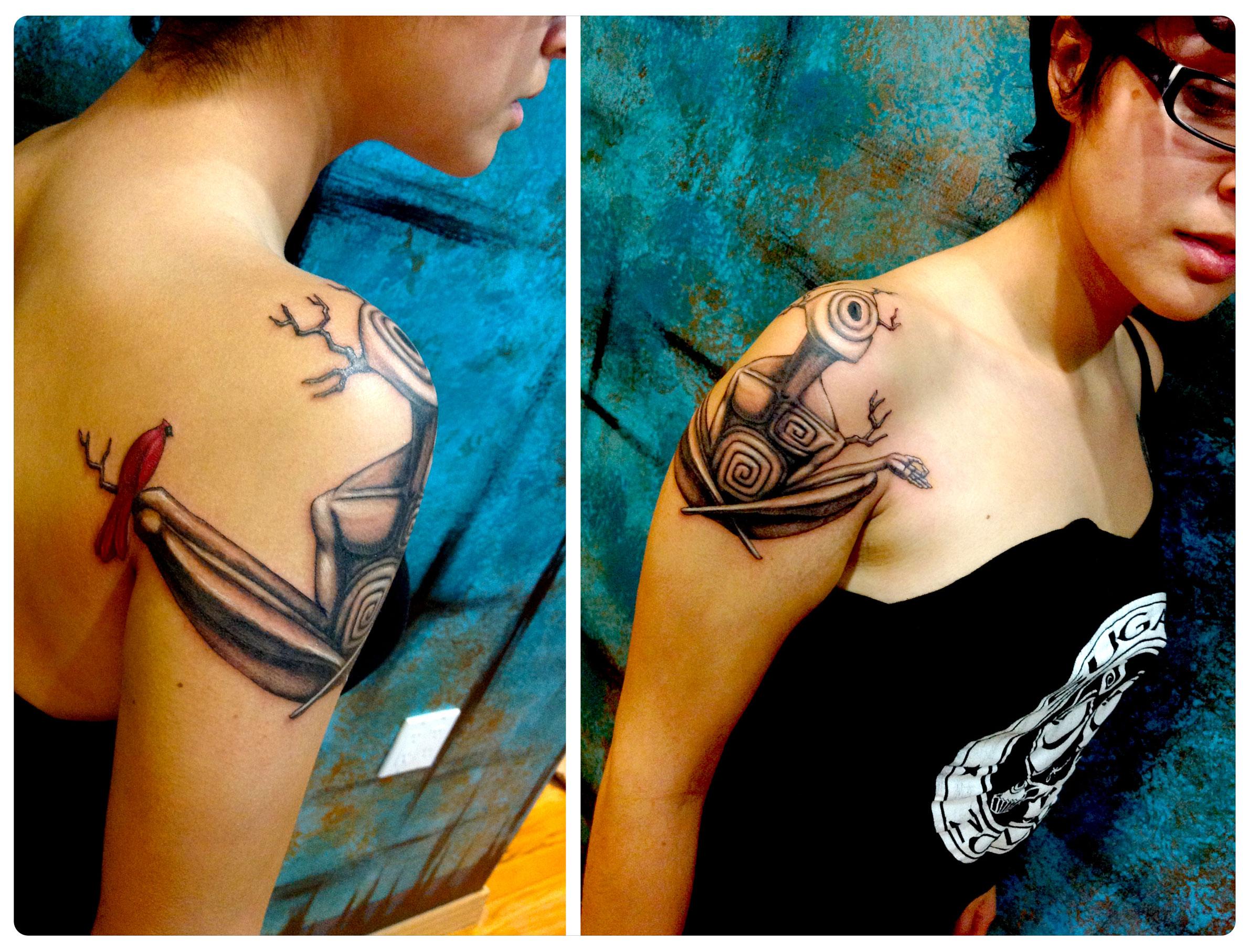 Art by J.R. Slattum  | Tattoo by Shane Acuff