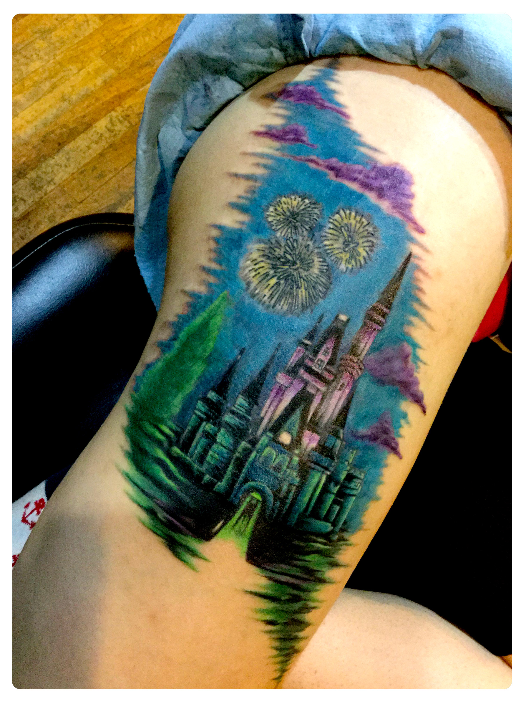 Tattoo Addition & Refresh by Shane Acuff