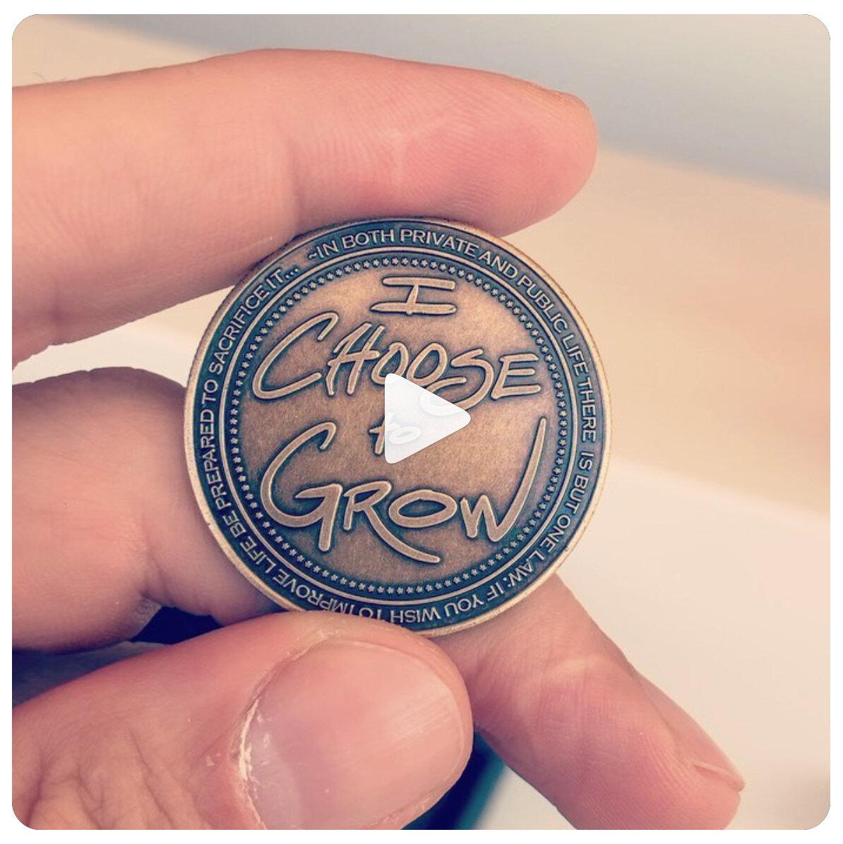 Custom coin created for the Haute Dokimazo conference in Tuscany, Italy